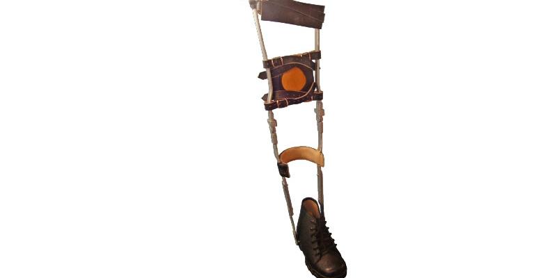 Orthopaedic n Leather_Long leg Brace