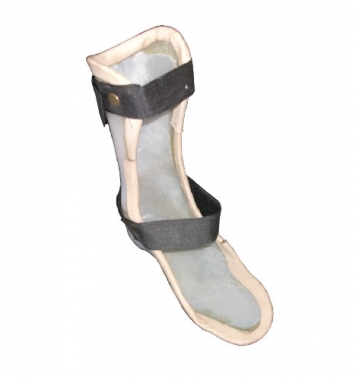Leather Plastic Ankle Foot Orthosis