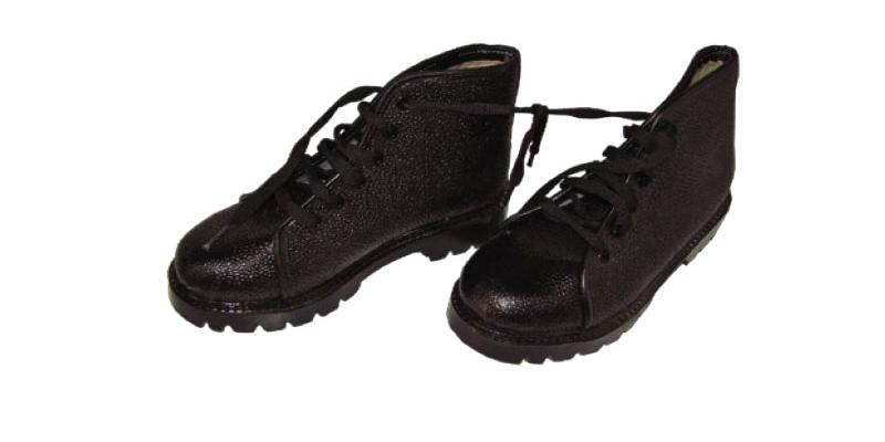 Orthopaedic n Leather_Polio boots