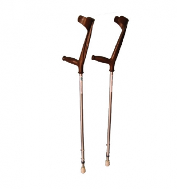 Elbow Crutches (Mild Steel with plastic Handle)