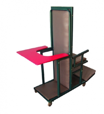 Standing seating aid metalic